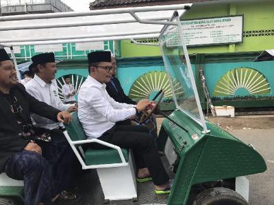 Santri Jember Berhasil Kembangkan Mobil Listrik
