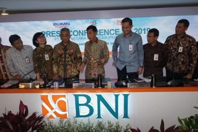 Naik 4,7%, Laba Bersih BNI Rp12 Triliun pada Kuartal III-2019