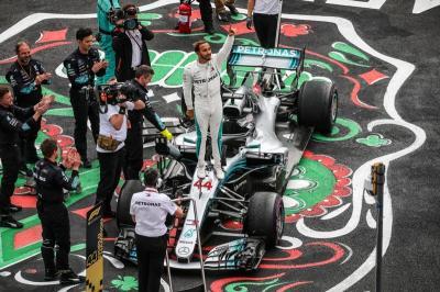 Skenario Hamilton Kunci Gelar Juara Dunia di F1 GP Meksiko 2019