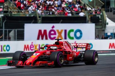 Vettel Bertekad Kalahkan Red Bull di F1 GP Meksiko 2019