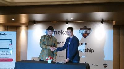Amartha Hangtuah Jakarta Jalin Kerja Sama dengan Mekari