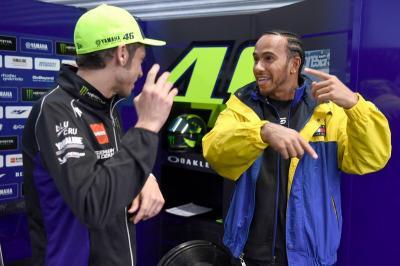 Juara F1 2019, Hamilton Dapat Ucapan Selamat dari Marquez hingga Rossi