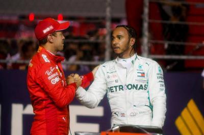 Hamilton Segel Gelar Juara Keenam di F1, Vettel: Dia Pantas Mendapatkannya!