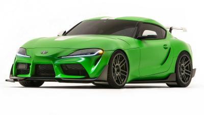 Toyota Supra Wasabi Concept, Modifikasi Pedas Ala Toyota