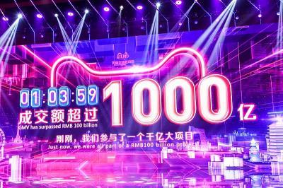 Alibaba Cetak Rekor dalam Single's Day