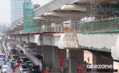 Rekor, Jembatan Lengkung LRT Jabodebek Terpanjang di Dunia