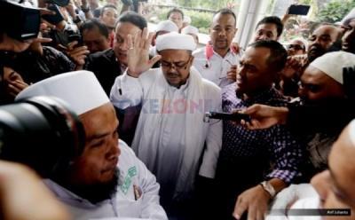 Simpang Siur Pencekalan Habib Rizieq