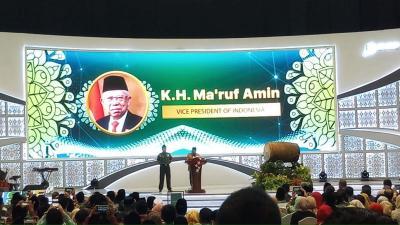 Cita-Cita Wapres Ma'aruf Amin: Industri Syariah Jadi Arus Baru dalam Ekonomi RI