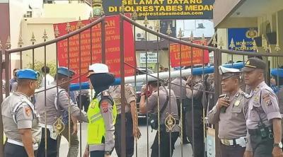 Tas Ransel Pelaku Sempat Digeledah sebelum Ledakkan Diri di Mapolrestabes Medan