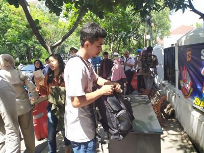 Polrestabes Bandung Perketat Pengamanan Pascabom Bunuh Diri di Medan