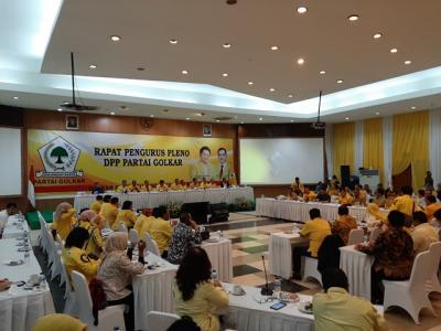 Jelang Rapimnas, Partai Golkar Gelar Rapat Pleno