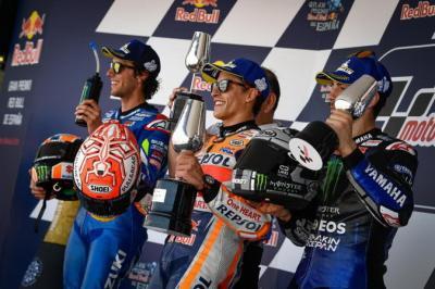 Siapa yang Finis di Posisi 3 MotoGP 2019, Vinales atau Rins?