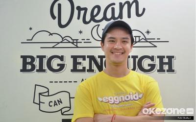 Morgan Oey Kesulitan Jadi Cowok Polos di Film Eggnoid