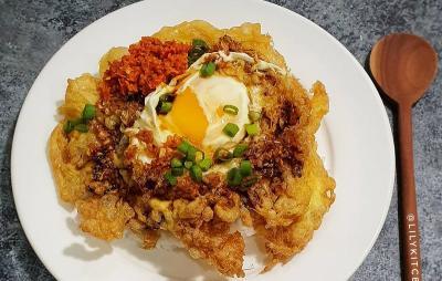 Bikin Telur Dadar Crispy dan Chicken Teriyaki di Tanggal Tua, Makan Makin Nikmat!