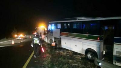 Kronologi Tabrakan Dua Bus di Jalan Tol Cipali