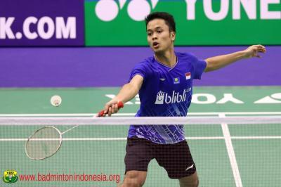 Kalahkan Chou Tien Chen, Anthony Tantang Jonatan di Semifinal Hong Kong Open 2019