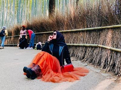 Gaya OOTD Sarita Abdul Mukti, Janda Kaya yang Kini Didekati Vicky Prasetyo