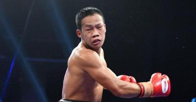 Menang TKO atas Mokoena, Daud Yordan Juara Kelas Ringan Super IBA