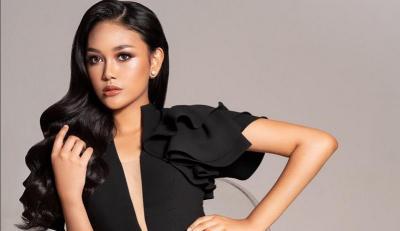 Berjuang di Miss World 2019, Princess Megonondo Dapat Dukungan Penuh dari Krisdayanti