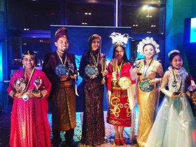 Harumkan Nama Indonesia, Maria Puspita Sinaga Juarai Kompetisi Menyanyi di Swedia