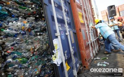 Pembakaran Sampah Plastik Impor untuk Industri Pabrik Tahu Langgar UU