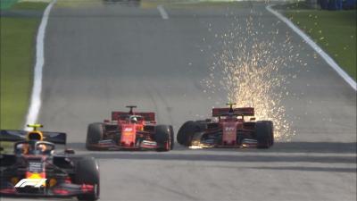 Bos Ferrari Tegaskan Hubungan Vettel dengan Leclerc Baik-Baik Saja