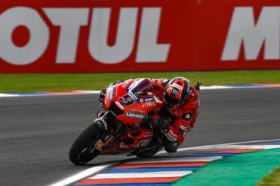 Miller Bela Penampilan Petrucci di MotoGP 2019
