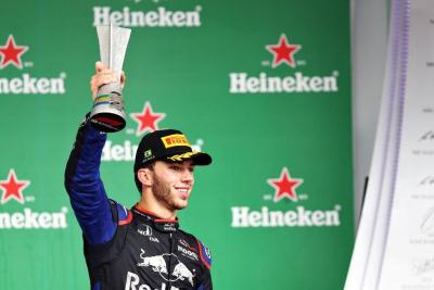 Raih Podium Pertama di F1, Gasly: Hari yang Luar Biasa!