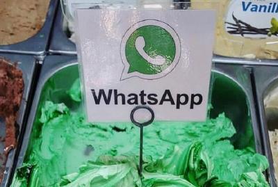 Viral Gelato Rasa WhatsApp, Bisa Tebak seperti Apa Rasanya?