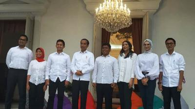 14 Stafsus Jokowi, dari Anak Konglomerat hingga Kader Partai