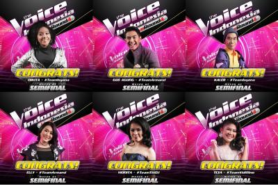 Inilah 5 Peserta yang Lolos ke Grand Final The Voice Indonesia 2019