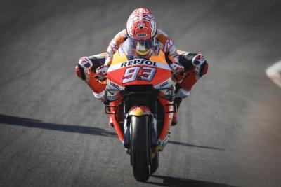 Demi Makin Cepat, Marquez Minta Honda Berikan Motor yang Tak Mudah Dikuasai