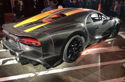 Saking Kencangnya, Michelin Racik Ban Khusus untuk Bugatti Chiron