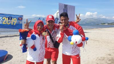Klasemen Perolehan Medali SEA Games 2019, 5 Desember Pukul 23.00 WIB