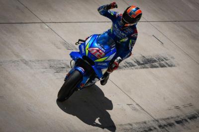 Rins Ungkap Momen Paling Berkesan di MotoGP 2019