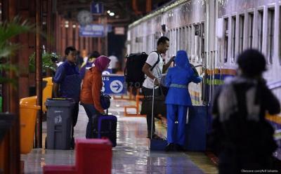 Jalur Kereta Bogor-Sukabumi Longsor, Perjalanan KA Pangrango Dibatalkan