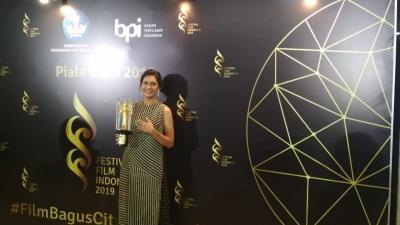 Raih Piala Citra 2019, Raihaanun Berharap Kekerasan terhadap Wanita Musnah
