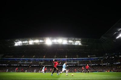 Menang 2-1, Man United Sukses Permalukan Man City di Stadion Etihad