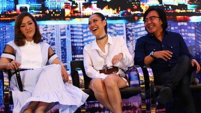 Kocak, Juri Indonesian Idol Seru Dangdutan di Atas Panggung Spektakuler