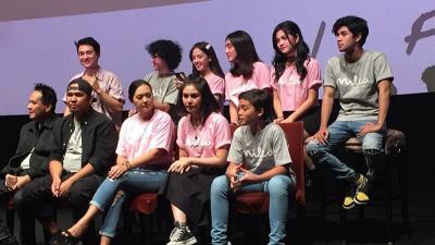 Vanesha Prescilla Tersipu Malu Lihat Trailer Milea: Suara dari Dilan