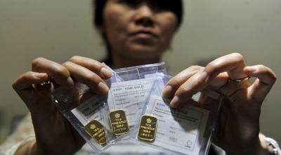 Harga Emas Antam Turun ke Rp743.000 Gram