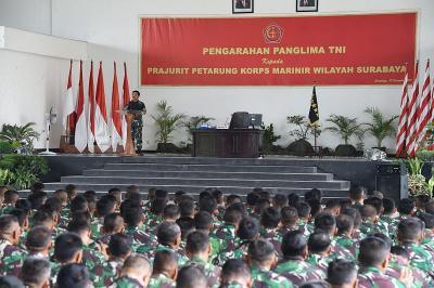 Panglima TNI : Marinir Adalah Prajurit yang Dibanggakan Rakyat Indonesia!
