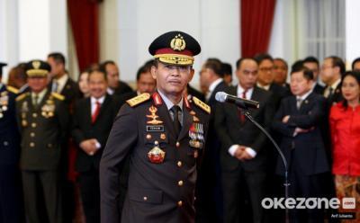 Kapolri Lapor Perkembangan Penyelidikan Kasus Novel ke Jokowi