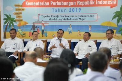 Dukung Visi Indonesia Maju, Kemenhub Fokus Bangun Infrastruktur Transportasi