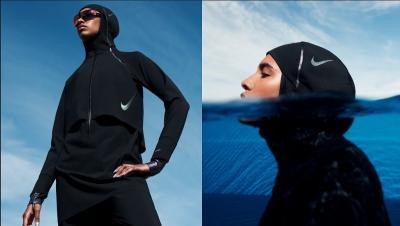 Menutup Lekuk Tubuh dan Aurat, Baju Renang Pertama Rancangan Nike untuk Hijabers