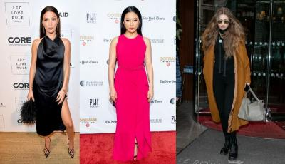 6 Selebriti Hollywood Paling Stylish di Desember, Hadid Bersaudara hingga Bintang Crazy Rich Asian