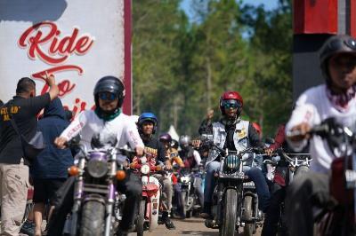 Obyek Wisata Coban Rondo Jadi Tujuan Ridescape Akhir Pekan Ini