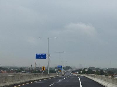 Ini Akses Tol Layang Jakarta-Cikampek