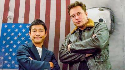 Gunakan Starship SpaceX, Miliarder Jepang Cari Pacar untuk Perjalanan ke Bulan