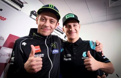 Quartararo Bicarakan Peluangnya Gantikan Rossi di Tim Pabrikan Yamaha